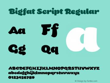 Bigfat Script Version 1.000图片样张