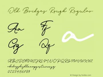 Old Bridges Rough Version 1.002图片样张