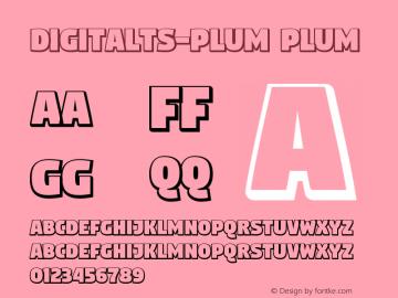 DigitaltS-Plum Version 0.63图片样张