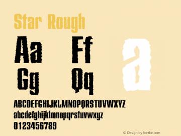 Star-Rough Version 1.00图片样张
