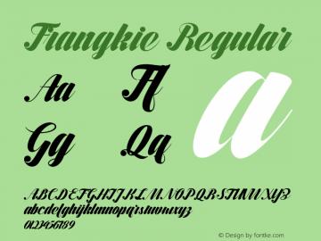 Frangkie Version 001.000图片样张