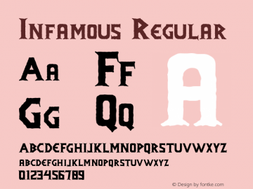 Infamous Version 1.000;PS 001.001;hotconv 1.0.56图片样张