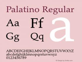 Palatino Version 1.60     03/31/2014图片样张