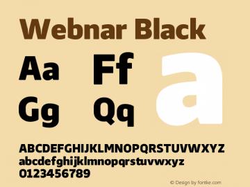 Webnar-Black Version 1.000;PS 001.000;hotconv 1.0.70;makeotf.lib2.5.58329;com.myfonts.easy.northernblock.webnar.black.wfkit2.version.4nTF图片样张