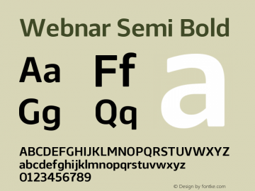 Webnar-SemiBold Version 1.000;PS 001.000;hotconv 1.0.70;makeotf.lib2.5.58329;com.myfonts.easy.northernblock.webnar.demi-bold.wfkit2.version.4nTH图片样张