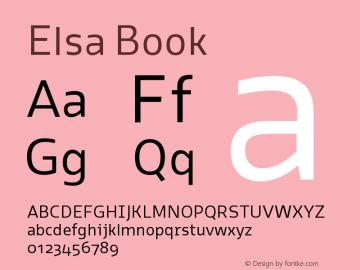 Elsa-Book Version 1.000;图片样张