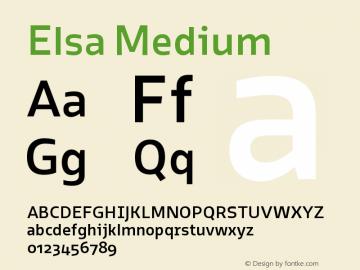 Elsa-Medium Version 1.000;图片样张