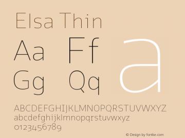 Elsa-Thin Version 1.000;图片样张