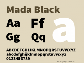 Mada Black Version 1.004图片样张