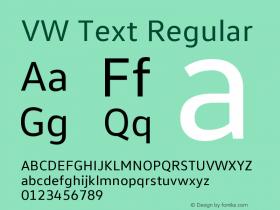 VW Text Version 1.102图片样张