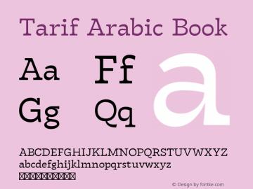 Tarif Arabic Book Version 1.000图片样张