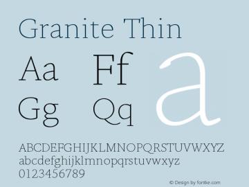 Granite-Thin Version 1.000图片样张
