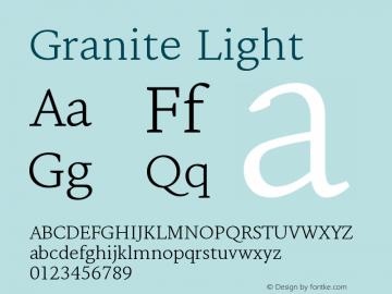 Granite-Light Version 1.000图片样张