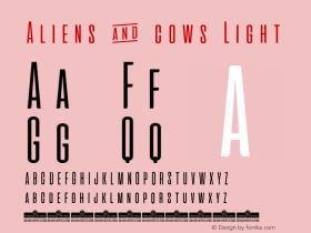 Aliens & cows Light Version 2.010图片样张