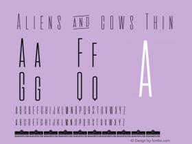 Aliens & cows Thin Version 2.010图片样张
