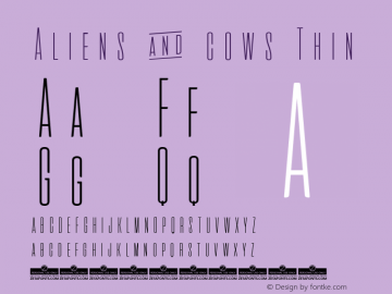 Aliens & cows Thin Version 2.010图片样张
