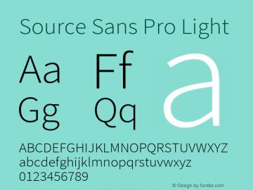 Source Sans Pro Light Version 2.021;PS 2.000;hotconv 1.0.86;makeotf.lib2.5.63406图片样张