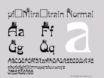 pf_Mira_train Normal 2001; 1.0, initial release图片样张