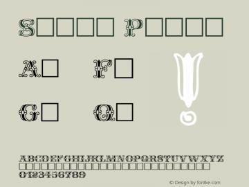 Spatz Plain Altsys Fontographer 3.3  3/27/93 Font Sample