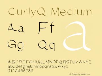 CurlyQ Medium Version 001.000图片样张
