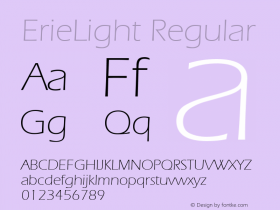 ErieLight v1.0c图片样张