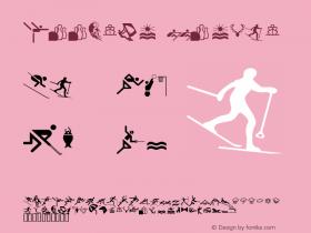 Doodler Normal Altsys Fontographer 4.1 5/24/96 Font Sample