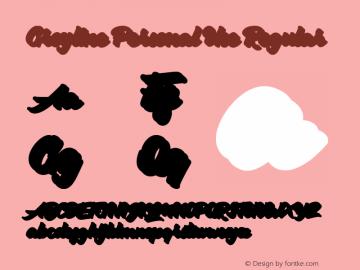 Groyline Personal Use Version 1.00;March 20, 2020;FontCreator 11.0.0.2408 32-bit图片样张