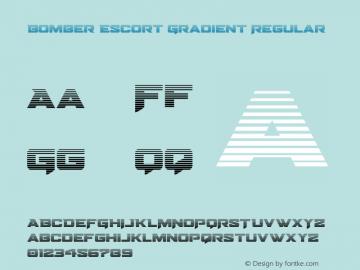 Bomber Escort Gradient Version 1.0; 2020图片样张