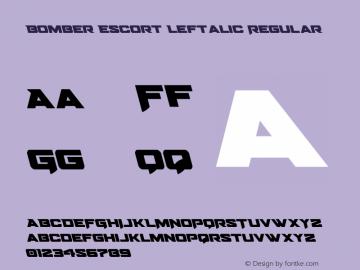 Bomber Escort Leftalic Version 1.0; 2020图片样张