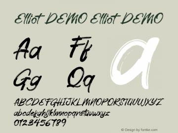 Elliot DEMO Version 1.000图片样张