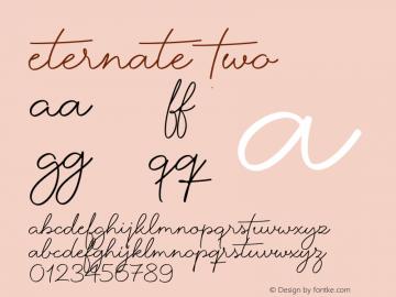 Eternate-Two 1.000图片样张