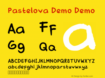 Pastelova Demo Version 1图片样张