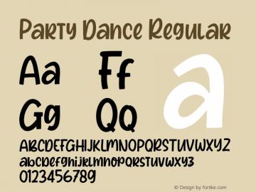 Party Dance Regular Version 1.000图片样张
