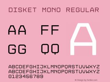 Disket Mono Version 1.102 September 9, 2019图片样张