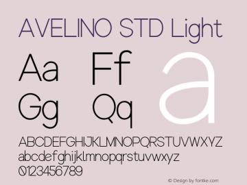 AVELINO STD Light Version 1.000图片样张