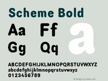 Scheme-Bold 13.0d3e1图片样张