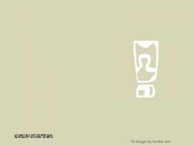 DGL puzzle Regular Version 1.50 Font Sample