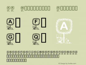 KR Washington Regular Macromedia Fontographer 4.1 02/16/2001 Font Sample