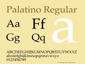 Palatino 13.0d1e2图片样张