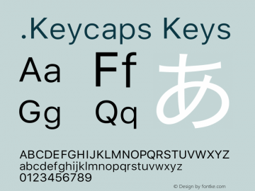 .Keycaps Keys 17.0d3e13图片样张