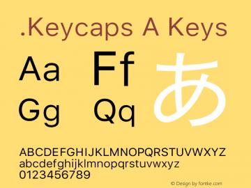 .Keycaps A Keys 17.0d3e13图片样张