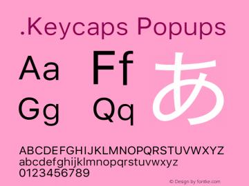 .Keycaps Popups 17.0d3e13图片样张