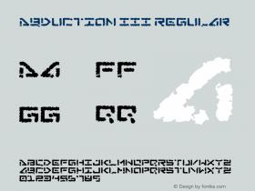Abduction III Regular v2.00 - 7/25/10 -