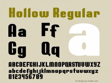 Hollow Regular Version 1.000图片样张