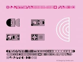 P22FLLWExhibition Extras Macromedia Fontographer 4.1.3 8/15/00 Font Sample