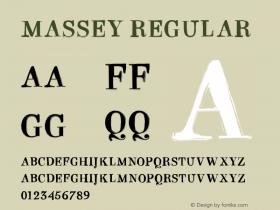 MASSEY Version 1.000图片样张