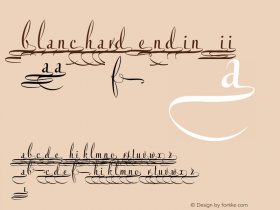 Blanchard Endings II 1.000 February 2009图片样张