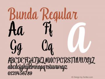 Bunda Version 1.000图片样张