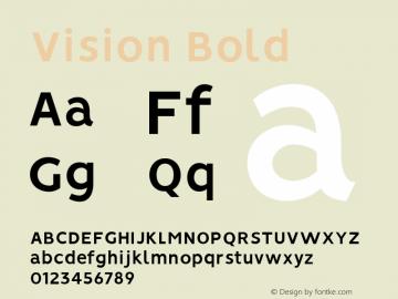 Vision Bold 1.0图片样张