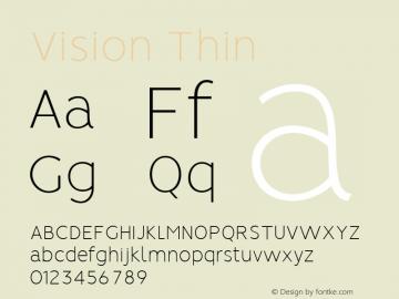 Vision Thin 1.0图片样张